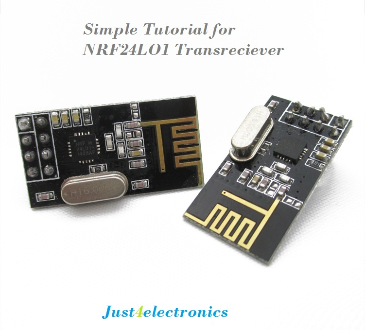Wireless Remote Using 2.4 Ghz NRF24L01 : Simple Tutorial Using of NRF24L01 & Arduino just4electronics