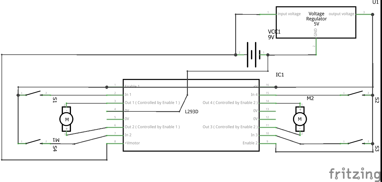 Awe Inspiring Learn Make Your Own Cheap L293D Motor Driver A Complete Guide For Wiring Database Pengheclesi4X4Andersnl